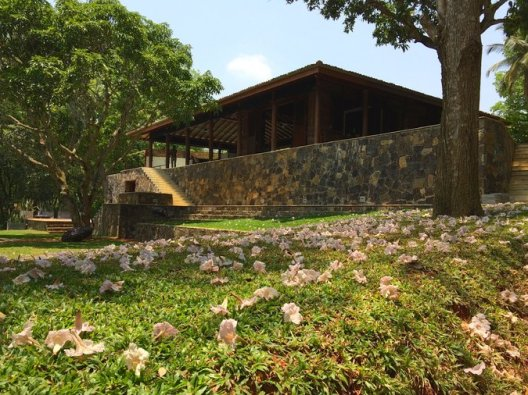 The Planter's Bungalow, the first of three homes that are planned for Wild Buffalo Hill, a working tea and cinnamon estate in Sri Lanka. – Credit: Shehan Obeysekara